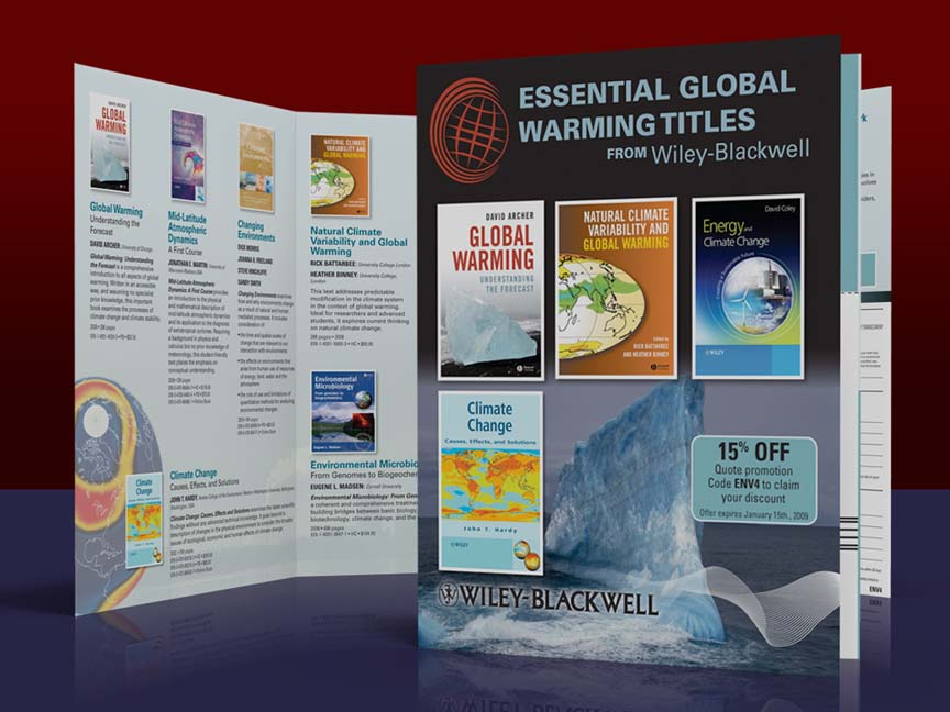 Wiley-Blackwell: Global Warming Textbooks Direct mail