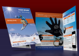 Go Glove: Print collateral design & production