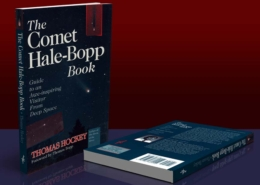 ATL Press: The Comet Hale-Bopp Book Cover: Two color, paperback