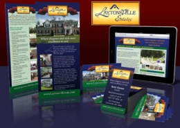 Laytonsville Estates: Brand development, collateral & website