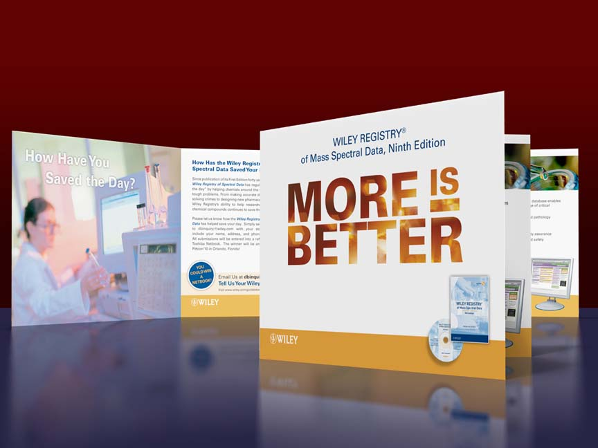 John Wiley & Sons: More is Better Reference Book direct mail