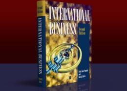 Blackwell Publishing: International Business Book Cover: Full color, hardback