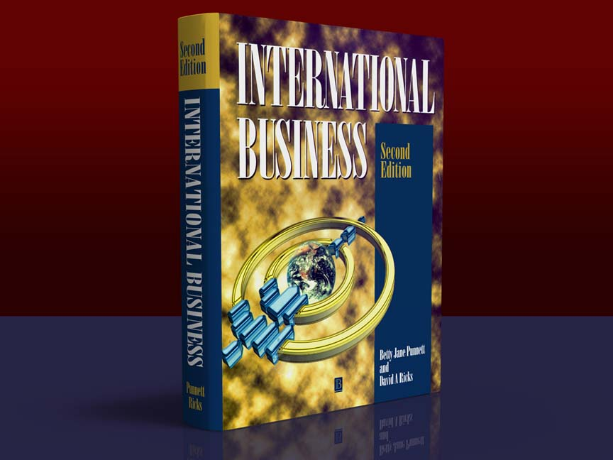 Blackwell Publishing: International Business Book Cover: Full color, hardback