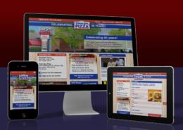 Town Spa: Website re-design